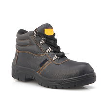 Genuine cow leather safety work shoes S3/plastic chain for snow/anti slip work shoes