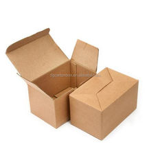 corrugated waxed frozen fish packing boxes with custom handle