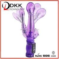 XB002 Rabbit 6 Speed Vibration Double Vibe Waterproof G Spot Vibrators