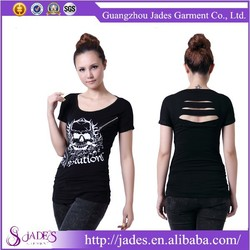 Trendy 2015 summer t shirt wholesale china teen girl women ladies