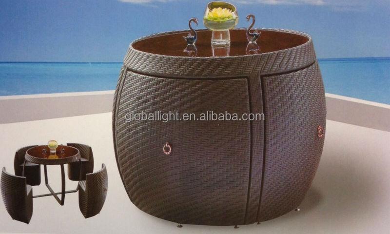 $_57 (30).jpg - Rattan Garden Space Saver Compact Chair Set Table Glass Patio
