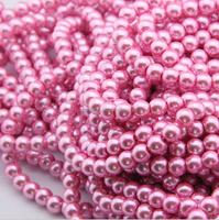 cheap pearl strands,shaped sparkle pearl & star pattern european charm bead fit bracelet
