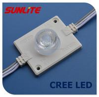 3w power led/creeled chip/12v ip65 injection led module