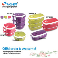 2014 hot sale good qulity keep warm stainless steel bento lunch box