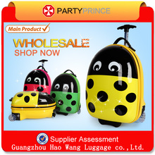 Newest style with ABS+PC composite material school trolley bag