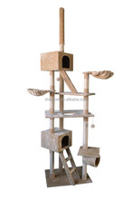 Factory Direct Price Large Cat Tree House,Cat Scratching Tree,Climbing Cat Tree