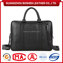 Executive Genuine Leather Laptop Bag Mens Briefcase