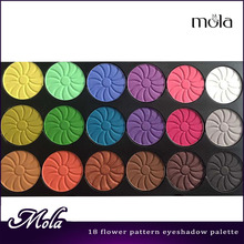 18 color flower pattern palettes create eyeshadow palette eye shadows online