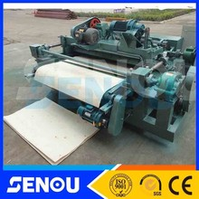 2015 plywood face spindle veneer peeling machine/ wood lathe chuck for sale