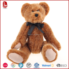 This year hot sale BSCI quality wholesale craft plush jointed teddy bears