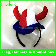 custom fashion beat quality velvet Festival hat /carnival party hat for decoration
