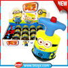 best selling toys 2014 kid toy flashing toys spinning tops with switch button