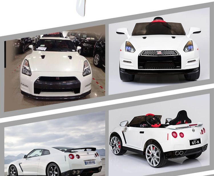 New Lisenced Nissan Gtr R35 Ride On Cars,2.remote Control Baby ...