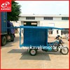 China Adult Cargo Three Wheel Motor Tricycle With Cabin For Item Retailing 2015