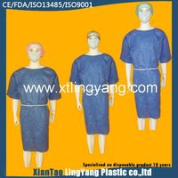 Hospital isolation gowns for doctors