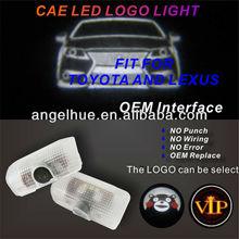 Llevó la luz del coche / del coche del con marcas de la insignia de luz para TOYOTA