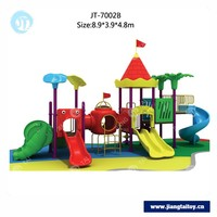 Delivery within 10 days JT-7002B used commercial playground equipment mcdonalds playground used playground slides for sale