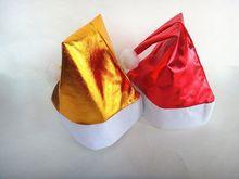 Fashion Custom Colorful Decoration Santa Hat