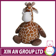 OEM cute colorful soft plush stuffed duck,dog,frog,giraffe,cow cushion and pillow toy with embroidered sunflower
