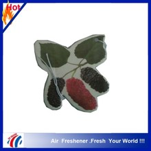 mulberry design hemp air freshener paperfor car and home use