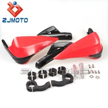 "HG-16-RD Red ZJMOTO motorcycle fairings Dirt bike Brush Bar 7/8"" 22mm motorcycle handguard,hand guards, hand protector"