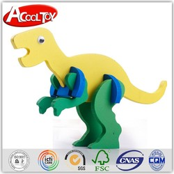 india alibaba new idea wooden dinosaur toy with competitive price