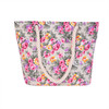 Flower handbag Baroque style tote bag