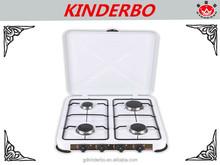 JK-004E four burner mini kitchen stove spray coating kitchen stove