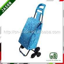 steel shopping trolley cart hotsell folding market shopping trolley bag