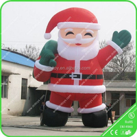 Gaint Inflatable Santa Claus for Christmas decoration