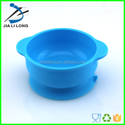 Bpa free silicone baby dinner mixing suction bowl