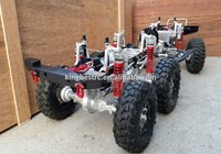 A Electric 1/10 Scale Rock Crawler RC Truck 6x6 New 1/10 Simulation Climbing Car With 6*6 Wheels -KBR0003