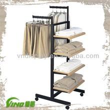 metal Clothes Rack garment display rack