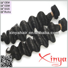 Best selling stock lots loose wave unprocessed virgin brazilian hair extension