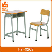 Adjustable height children desk and chair kid study table