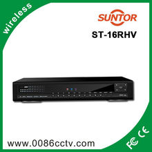 H.264 hi-tech 16ch network video recorder