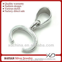 XD X206 925 sterling silver C shape clasp price sterling silver