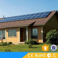 High power off grid solar panel system 5000W with ce rohs