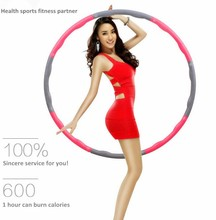 Bestselling Weighted Sports Hula Hoop for Weight Loss - Foam comfortable hula hoop