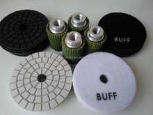 granite polishing pads for Polishing convex or edges
