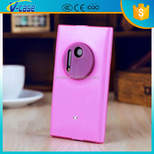 Pink TPU Gel Silicone Protective Soft Bumper Shell Cover Skin case for Nokia Lumia 1020
