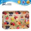 Cheap fruit design Deep oval plastic tray with different