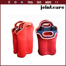 6pack Neoprene wine bottle cooler carrier