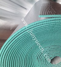 6.5mm XPE foam fire retardant and woven fabric aluminum foil thermal insulation