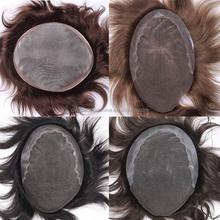 Factory Price Shipping Fast Indian Human Hair hair wig men toupee