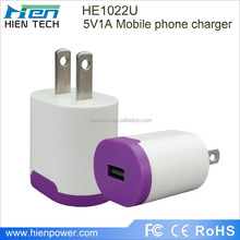 5V 1A USB Port Wall Charger Mobile phone accessories