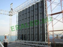 Outdoor indoor fixed rental full color 2012 large flexible led screens