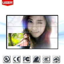 Cheap price TV 55 inch samsung video wall LED backlight with controller