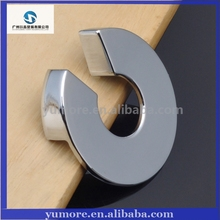 Circle modern chromium kitchen cabinet pull handles
