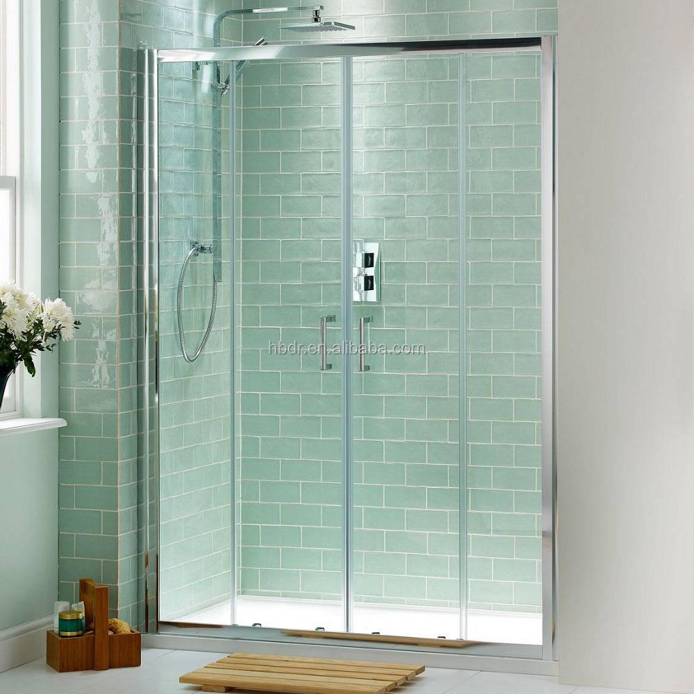 Nettoyage salle de bains de douche coulissante portes - Porte coulissante salle de bain pas cher ...